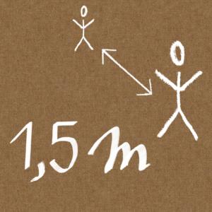1,5m contre le covid